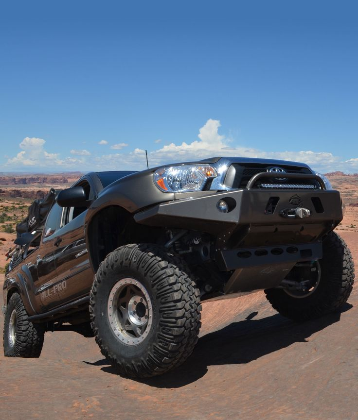 Tacoma Apex Aluminum Front Bumper All Pro Off Road
