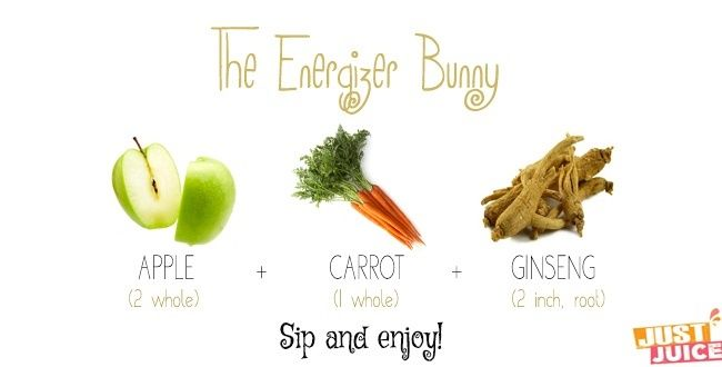 3 Super Simple Juicing Recipes for Energy | Just Juice