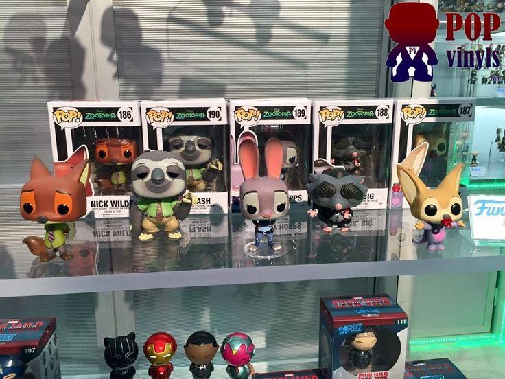 New York Toy Fair Zootopia Funko Pop