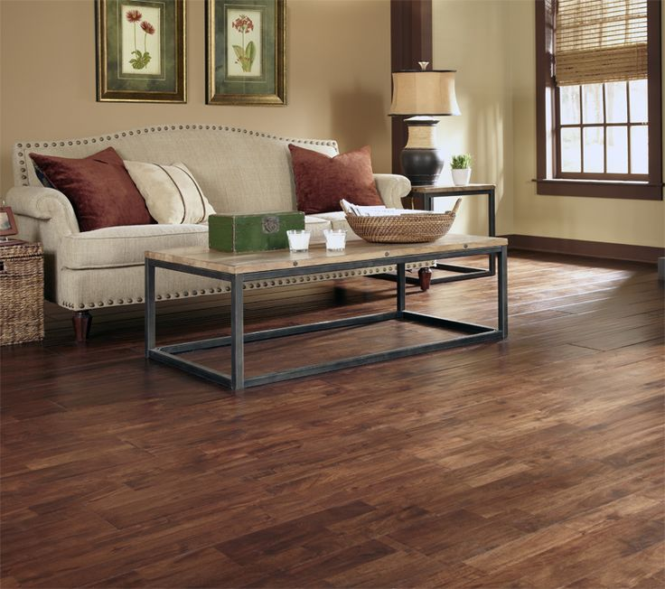 "Kitchen Flooring Trends 2015: Burnished Acacia Has Planks That Are 8"" Wide! Are You On"