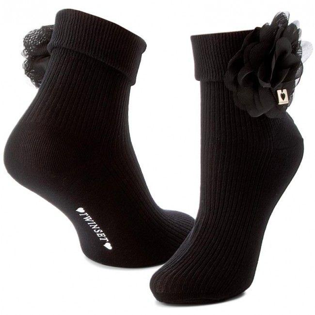 Κάλτσες Κοντές Γυναικείες TWINSET - Calza OA7TZ6 Nero 00006