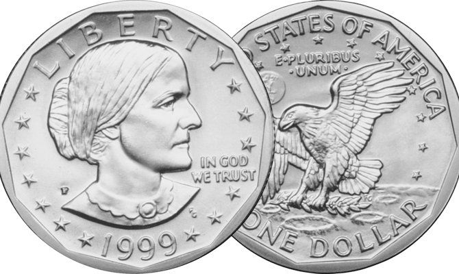 The Susan B. Anthony dollar is probably the least popular coin made in America. This makes collecting a complete set of the dollars quite easy and affordable!