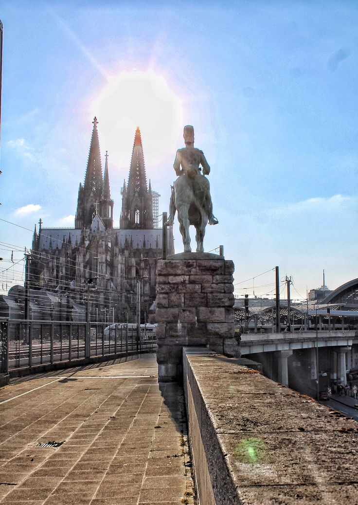 Latest travel post on the blog from Köln – unsere Stadt http://www.fashionablestreets.blogspot.com #travel #koeln #cologne #dome #rhine #rin #cathedral