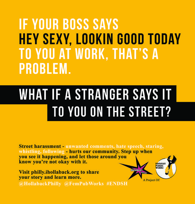 15 Ads Combatting Street Harassment On PhiladelphiaTransit - Is this their subtle way of saying they have a problem on the Philadelphia Transit ?