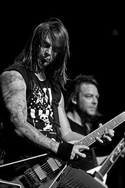 Matt Tuck ♥♡ Bullet for my Valentine Always play huge venues but I crave seeing them somewhere jam packed.