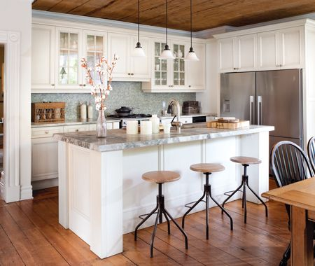 Une cuisine de style campagnard industriel
