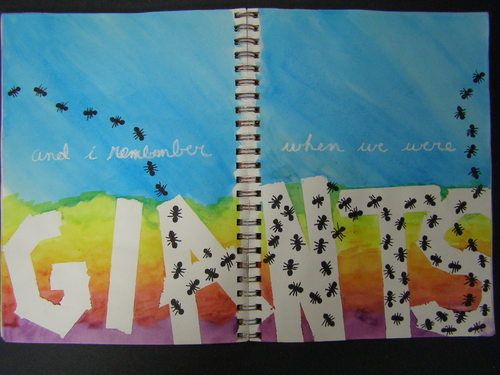 Visual Journals and Altered Books and 100 Journal Prompts to get you started!