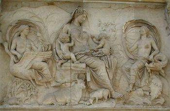 Gea, Diosa Madre de la mitología griega