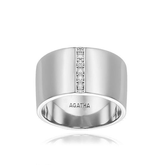 bague diamant agatha