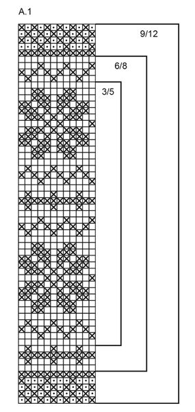 """Forest Dance Legwarmers - Gestrickte DROPS Beinstulpen in """"Karisma"""" mit Nowegermuster. Größe 3- 12 Jahre. - Free pattern by DROPS Design"""
