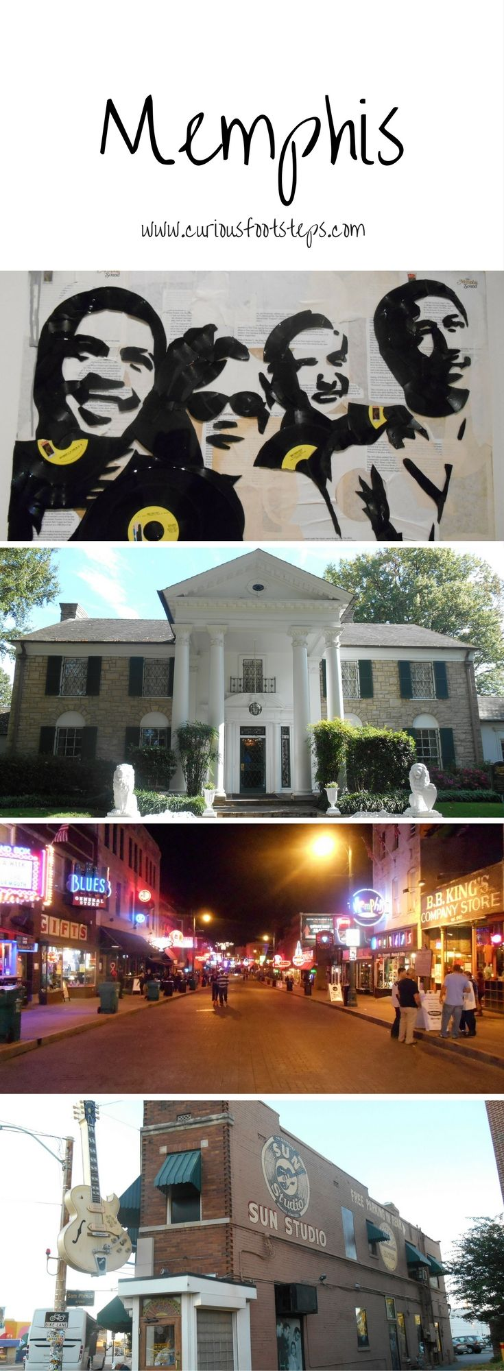 Memphis, Tennessee, USA, Sun Studio, Elvis Presley's Graceland, Stax Museum of American Soul Music, Civil Rights Museum, Beale Street, Martin Luther King Memorial
