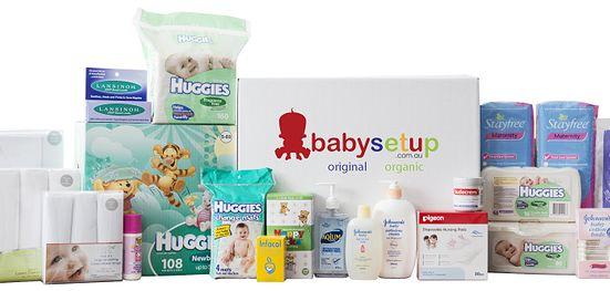 2nd Time Mum - ORIGINAL Baby Setup Box  www.babysetup.com.au