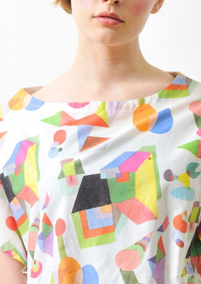 abstract geometric bright