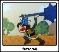 Halvar niño / Vickie el Vikingo / Wickie und die starken Männer / 1974