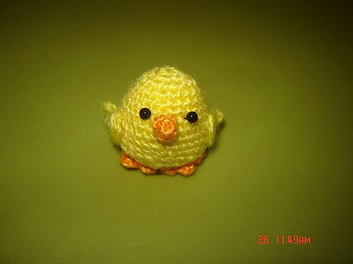 Little Amigurumi Easter Chick / Chicken - free crochet ...