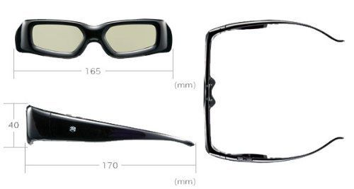 GBSG03-JP: iTrek 3D Active Shutter Glasses for Panasonic 3D TV by i.Trek. $27.00. Enjoy high-quality 3D entertainment experience when you combine this pair of adult-sized 3D Active Shutter Glasses with a compatible Panasonic 3D HDTV. Compatible models include:  # VT25 Series Plasma HDTVs # VT20 Series Plasma HDTVs # GT25/24 Series Plasma HDTVs