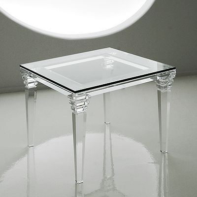... , Furniture and Stunning Acrylic Designs--end table/nightstand option