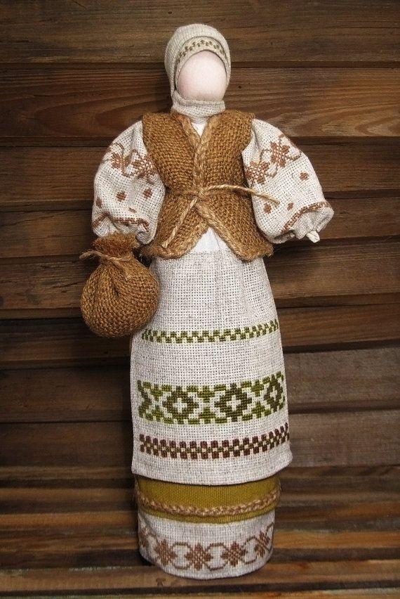 Украінська традиційна лялька мотанка от UkrainianFolkDolls на Etsy