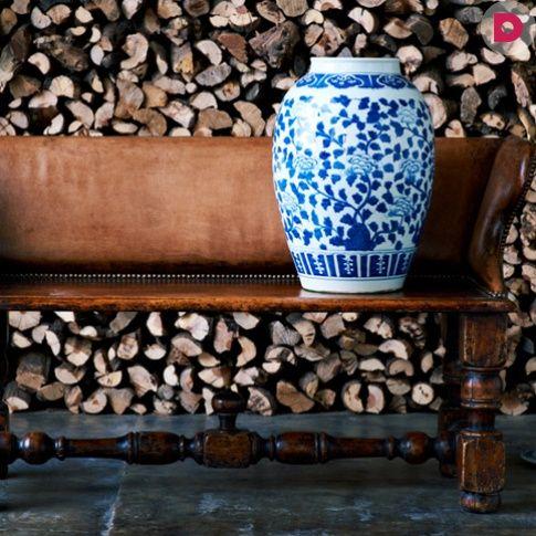 Напольные вазы в интерьере: 20 простых идей