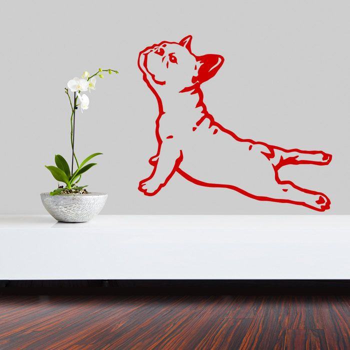 Best Dog Wall Decals Images On Pinterest Vinyl Wall Decals - Bulldog vinyl decals