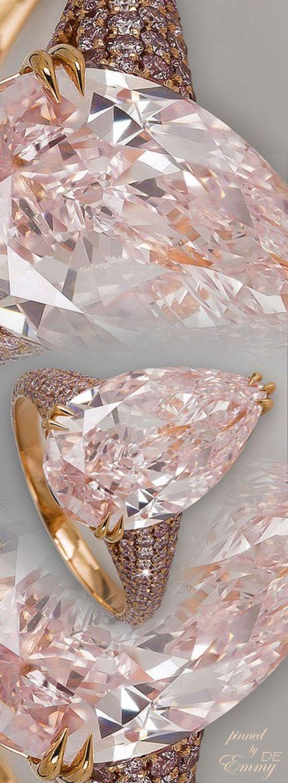 http://rubies.work/0782-emerald-earrings/ Emmy DE * pink diamonds #jewelry