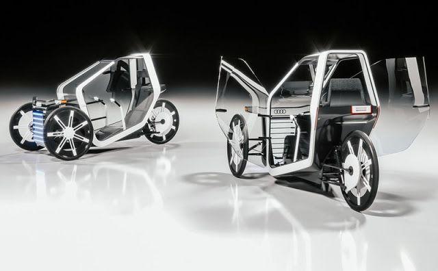 Audi 'Fórmula Zero' un concepto urbano  beneficioso con el medio ambiente