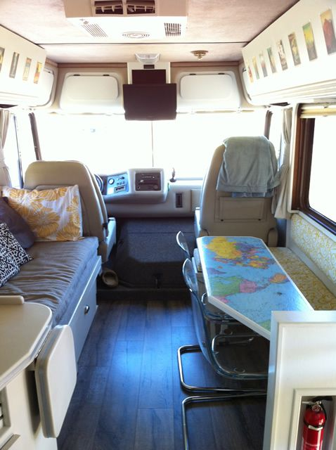 Before and After, RV remodel
