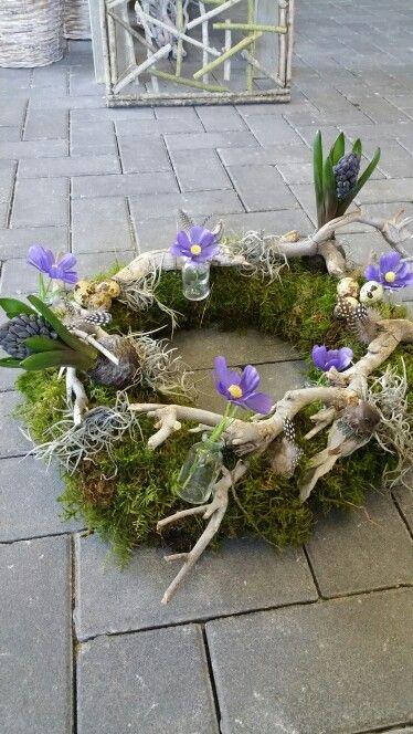 Voorjaarskrans #wreath #krans