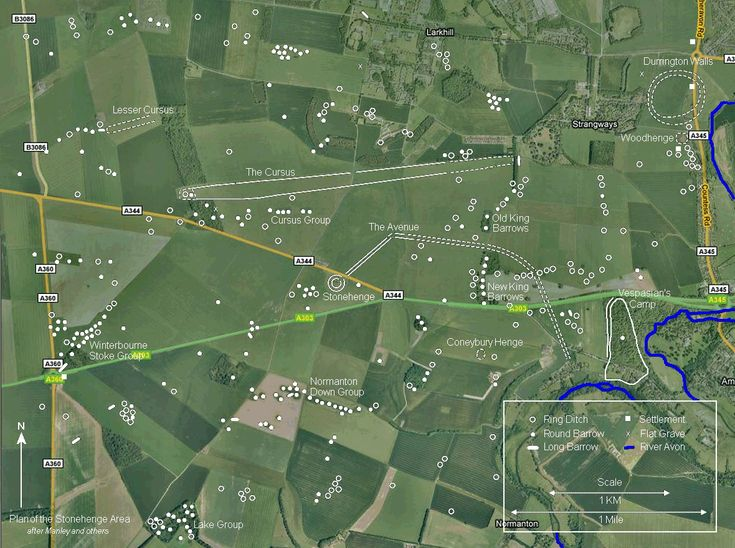 This project is establishing a completely new framework for studying the Stonehenge landscape. Description from blog.stonehenge-stone-circle.co.uk. I searched for this on bing.com/images