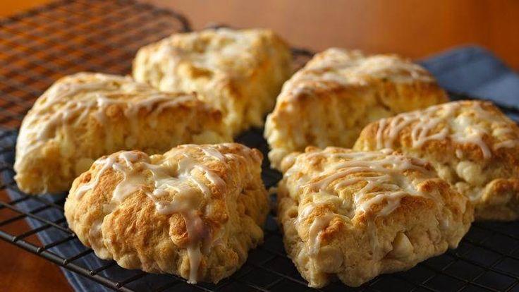 Coconut, Pineapple and Macadamia Scones recipe from Betty Crocker