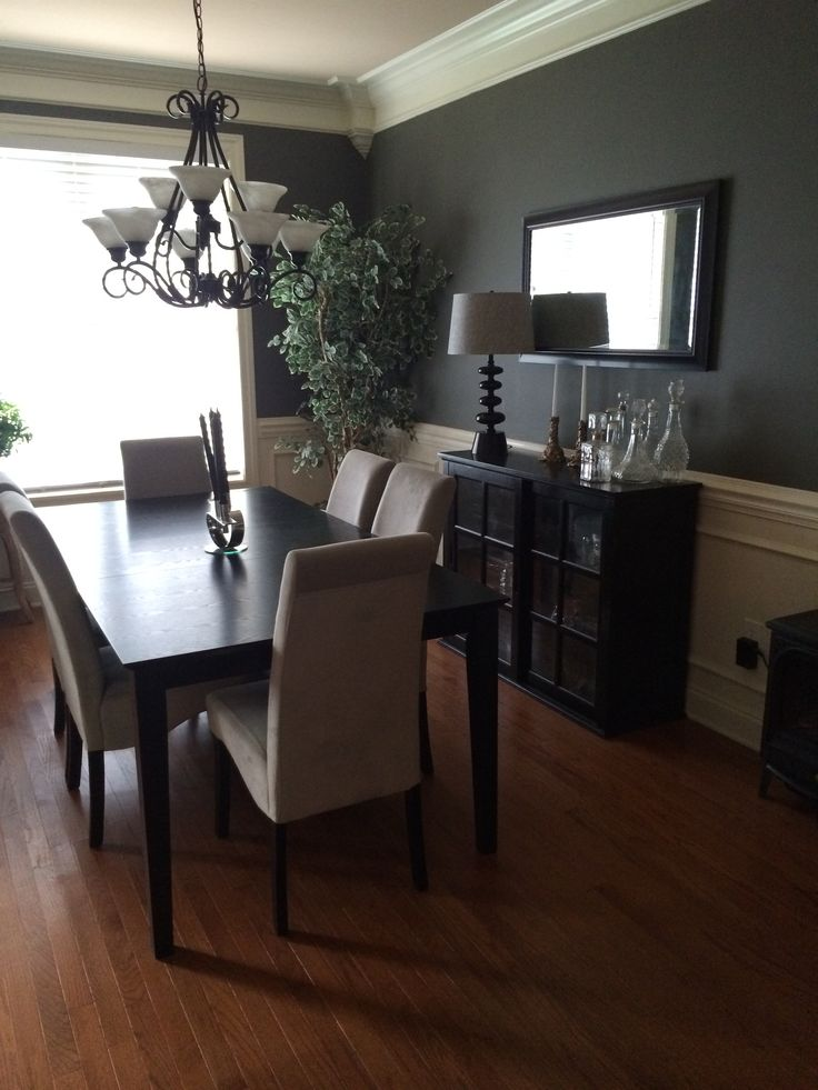 Sherwin Williams Cast Iron Dining Room For The Home