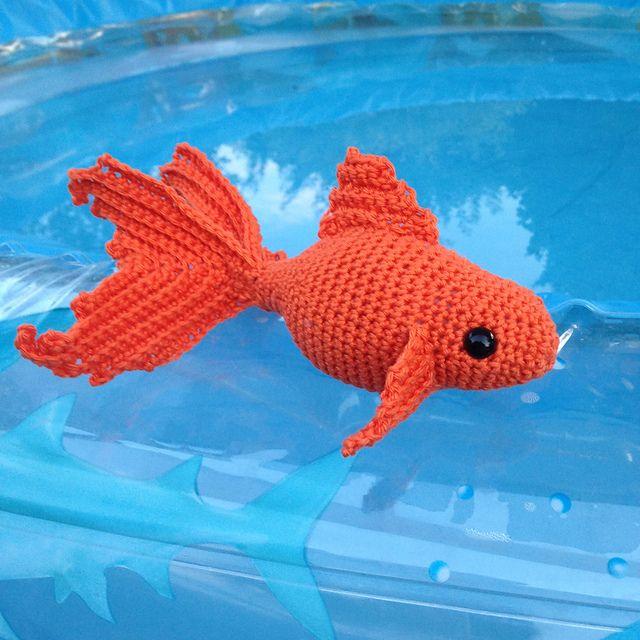 Fancy Goldfish Amigurumi By Kate Wood : Oltre 1000 immagini su Crochet Baby: Amigurumi & Toys su ...