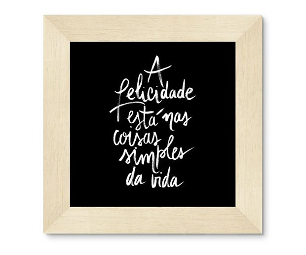 Caixa Cosmo: pôster exclusivo lettering Estúdio Amor;