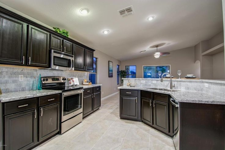 transitional kitchen with kitchen island  daltile sandalo