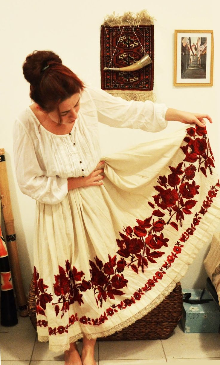 yugoslavian/Croatian folk embroidery - Google Search Posavina