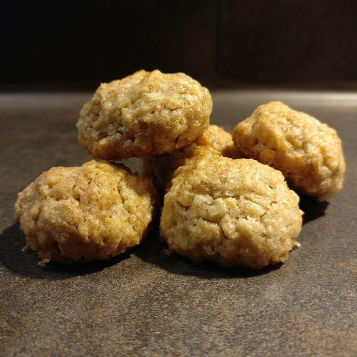 Haferflocken-Cashew-Plätzchen // Oat Cashew Cookies