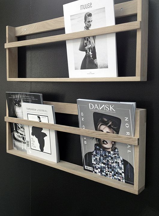 Magazine shelf || Trendenser.se