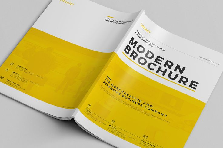 Creative Brochure Vol.1 ~ Brochure Templates on Creative Market