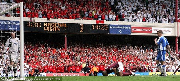 Thierry Henry's greatest moments at Arsenal - VIDEO | Daily Mail Online