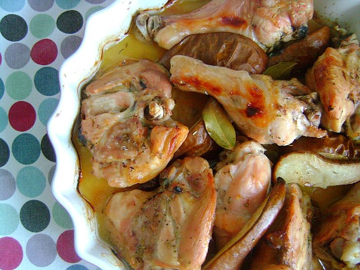 Kurczak z gruszkami