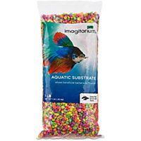 Imagitarium Mini Rainbow Confetti Aquarium Gravel