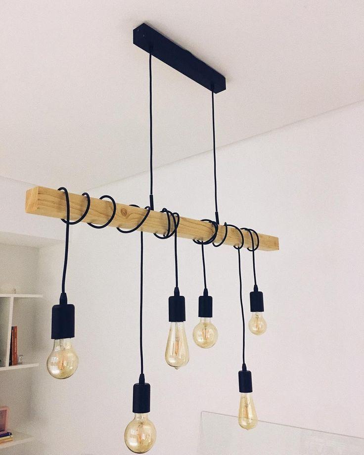 Modern Vibes Mit Der Einzigartigen Pendelleuchte Townshed Sorgst Du Fur Ein Hi Esszimmer Lampe Modern Lampe Industrial Anhanger Lampen