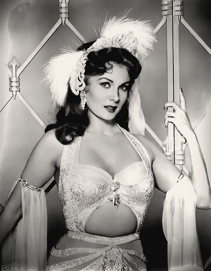 Rhonda Fleming - she was one of those great actresses of yesteryear. She embodies all the glamor of the silver screen