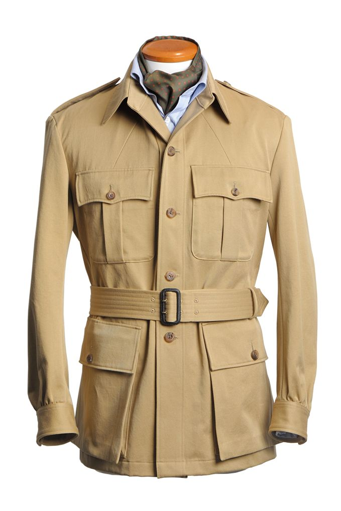 An overview of the safari jacket presented by batak.