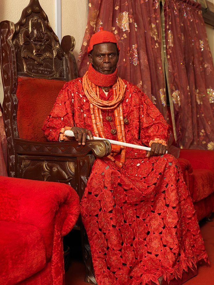 Lagos-based photojournalist George Osodi captures Nigerian royalty in all its brightly colored glory, combining traditional kinglike regalia...