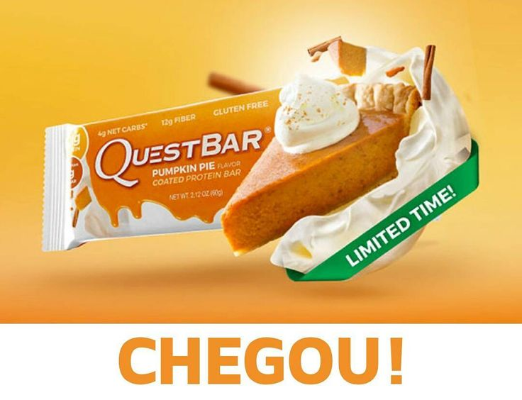 O novo sabor das Quest Bar já chegou à #MyWheyStore! Delicia-te com o sabor a Tarte de #Abóbora  Aproveita já em www.mws.pt ou no link do perfil @mws.pt   #Almada #Portugal #health #fitness #fit #suplementos #fitnessaddict #fitspo #workout #bodybuilding #cardio #gym #train #training #health #healthy #instahealth #healthychoices #active #strong #motivation #instagood #determination #lifestyle #diet #getfit #cleaneating #eatclean