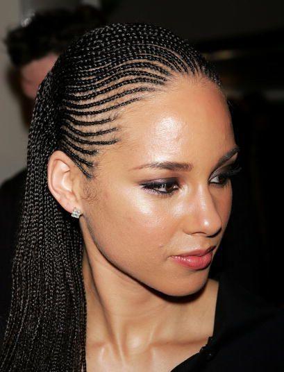 Wondrous 1000 Ideas About Alicia Keys Braids On Pinterest Braids Hairstyles For Women Draintrainus