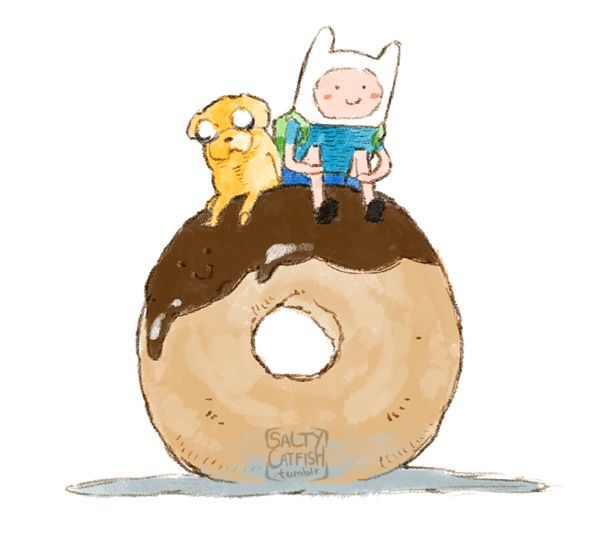 AT: Donut by saltycatfish on DeviantArt