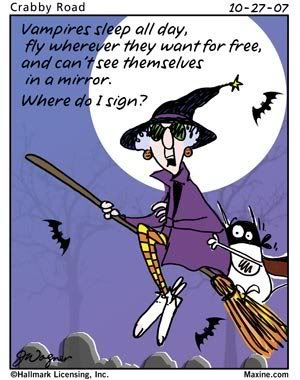 Funny Halloween Cartoons | Halloween Cartoon Maxine Witch Signup Photo by prestonjjrtr ...