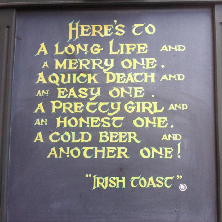 Irish toast! | Funny & Inspirational Quotes | Pinterest ...